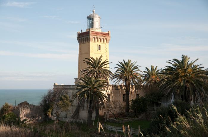 Latarnia morska w Tangerze
