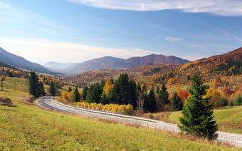 Trasy rowerowe w rejonie Terchovskiej Doliny, Mała Fatra