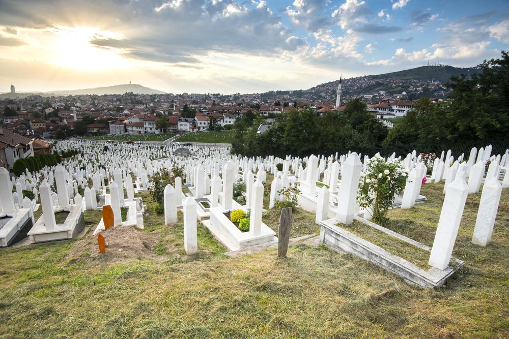 Sarajewo - cmentarz