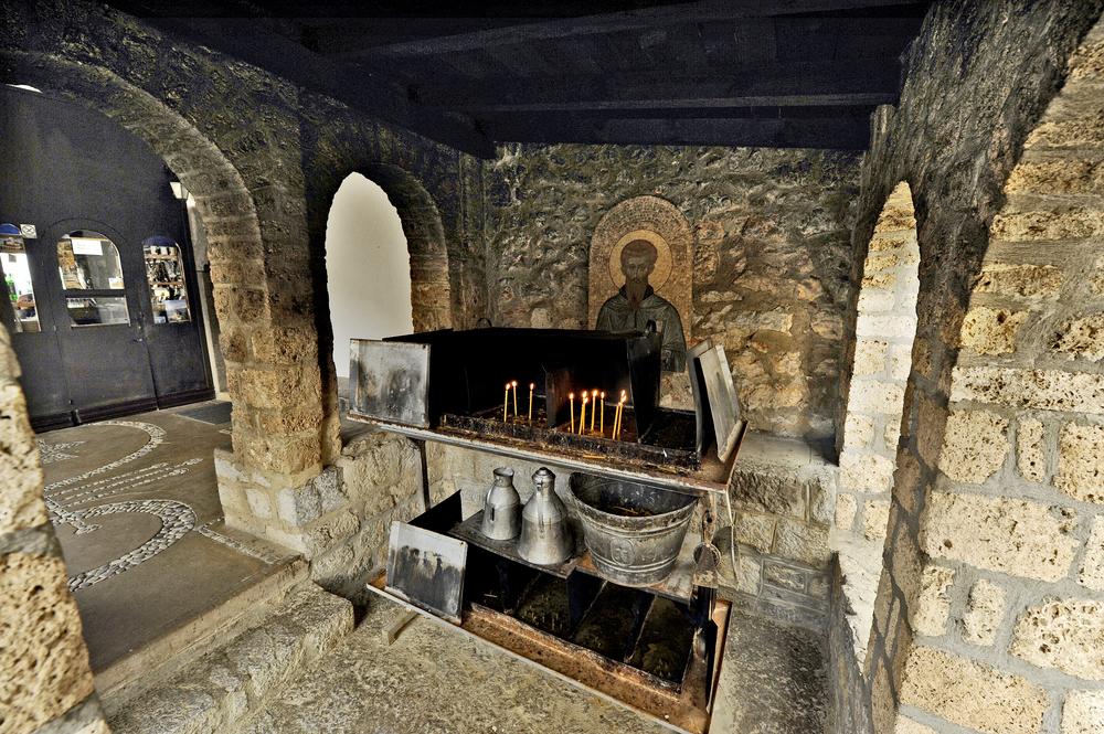 Macedonia, Cerkiew  św. Nauma nad Jeziorem Ochrydzkim